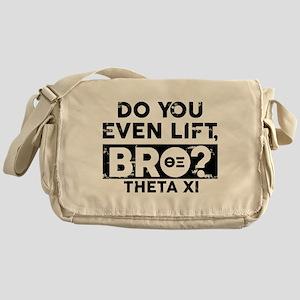 Theta Xi Lift Messenger Bag