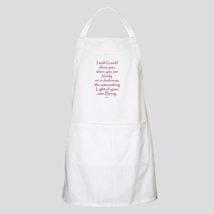 I Wish I Could Show You Apron