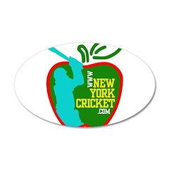38.5 x 24.5 Oval Wall Peel