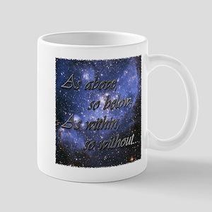 As Above So Below Mug