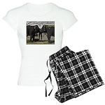 Elephant Eyes Woodcut Women's Light Pajamas