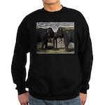 Elephant Eyes Woodcut Sweatshirt (dark)