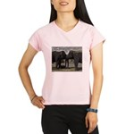 Elephant Eyes Woodcut Performance Dry T-Shirt