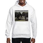 Elephant Eyes Woodcut Hooded Sweatshirt
