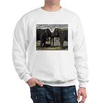 Elephant Eyes Woodcut Sweatshirt