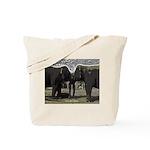 Elephant Eyes Woodcut Tote Bag