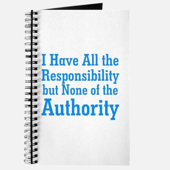 No Authority Journal