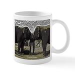 Elephant Eyes Woodcut Mug
