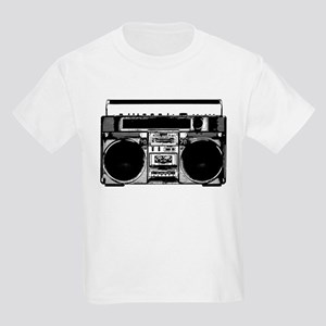 """Boombox"" Kids Light T-Shirt"