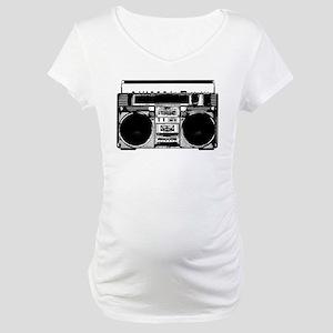"""""""Boombox"""" Maternity T-Shirt"""