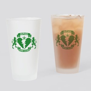 DDD Drinking Glass - Green Logo