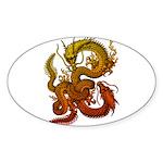 Karami Ryuu 1 Sticker (Oval 50 pk)