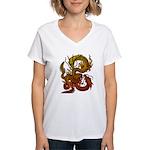 Karami Ryuu 1 Women's V-Neck T-Shirt