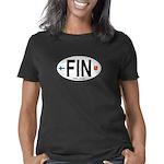 fin-oval Women's Classic T-Shirt