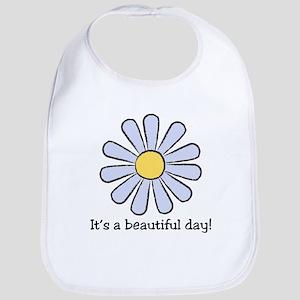 Blue Daisy - Beautiful Day Bib