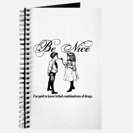 Pharmacy - Be Nice Journal