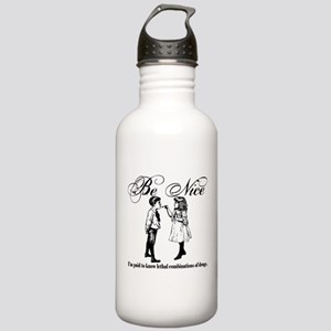 Pharmacy - Be Nice Stainless Water Bottle 1.0L