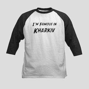 Famous in Kharkiv Kids Baseball Jersey