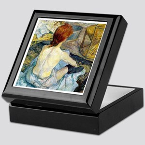 Toulouse Lautrec Bath Keepsake Box