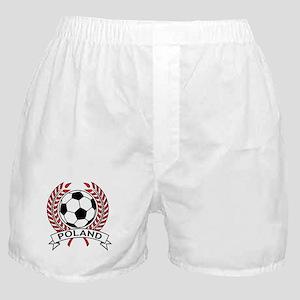 Poland Soccer Boxer Shorts