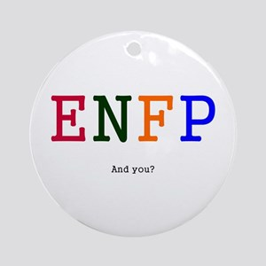 ENFP Personality Goodies Ornament (Round)