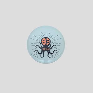 Theta Xi Octopus Mini Button