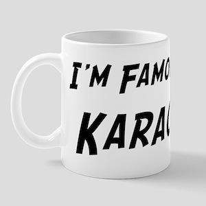 Famous in Karachi Mug