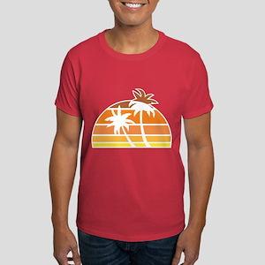 Vintage Beach Dark T-Shirt