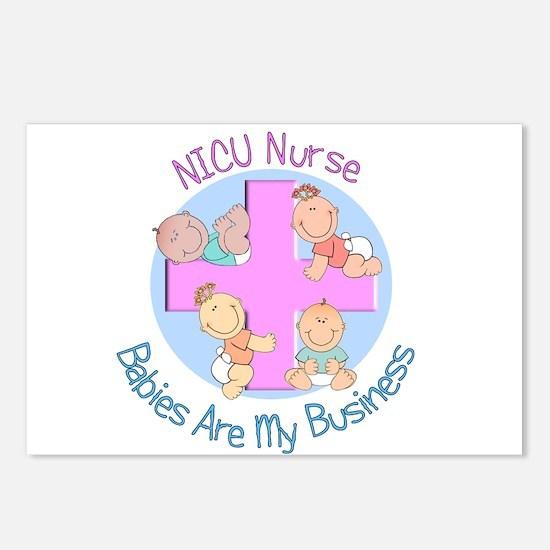Baby Nurses Postcards (Package of 8)