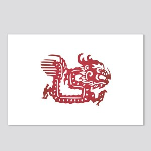 Dragon Zodiac Postcards (Package of 8)