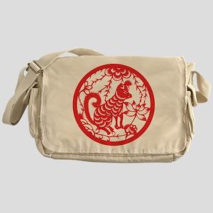 Dog Zodiac Messenger Bag