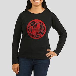Dog Zodiac Women's Long Sleeve Dark T-Shirt