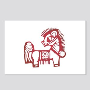 Horse Zodiac Postcards (Package of 8)