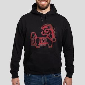 Horse Zodiac Hoodie (dark)