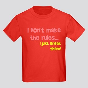 I don't make them I break the Kids Dark T-Shirt