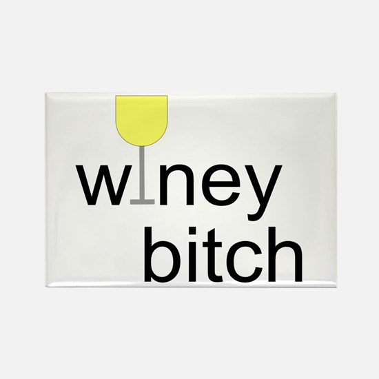 Winey Bitch Rectangle Magnet