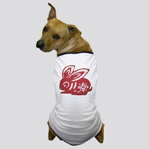Rabbit Zodiac Dog T-Shirt