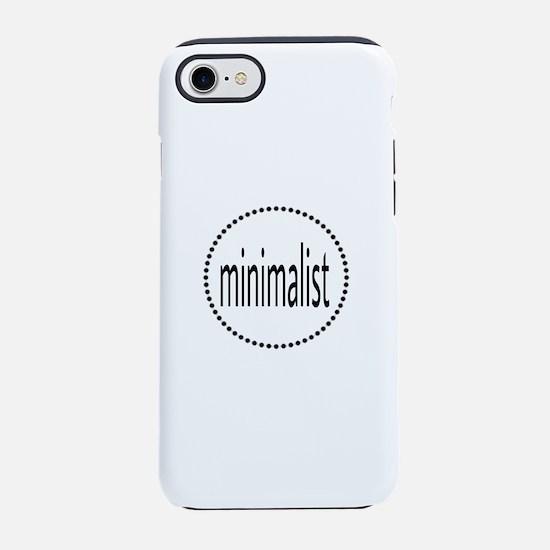 minimalist iPhone 7 Tough Case