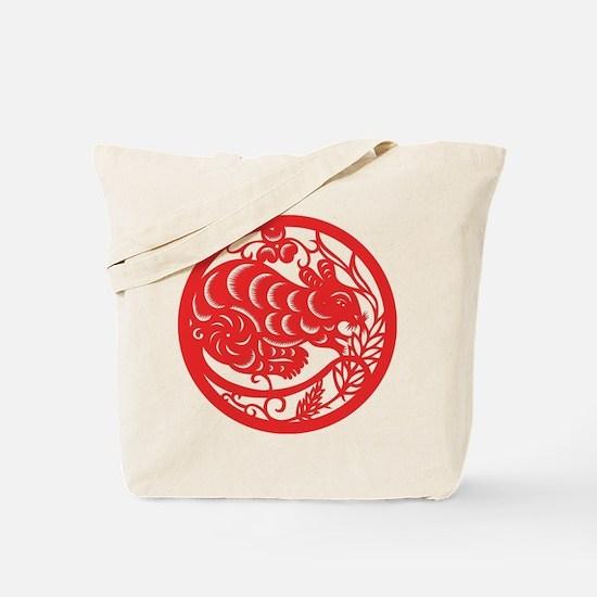 Rat Zodiac Tote Bag