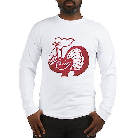 Rooster Zodiac Long Sleeve T-Shirt