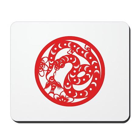 Snake Zodiac Mousepad