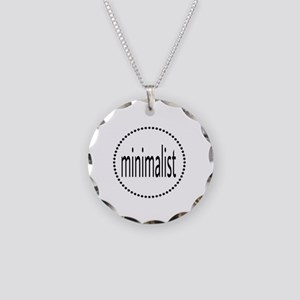 minimalist Necklace Circle Charm