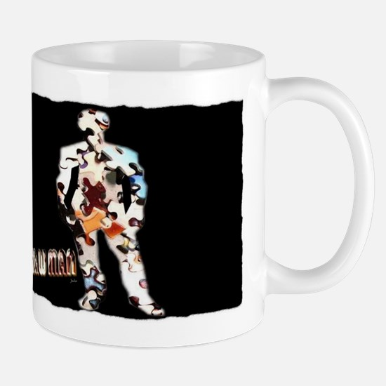 the jigsaw man Mug
