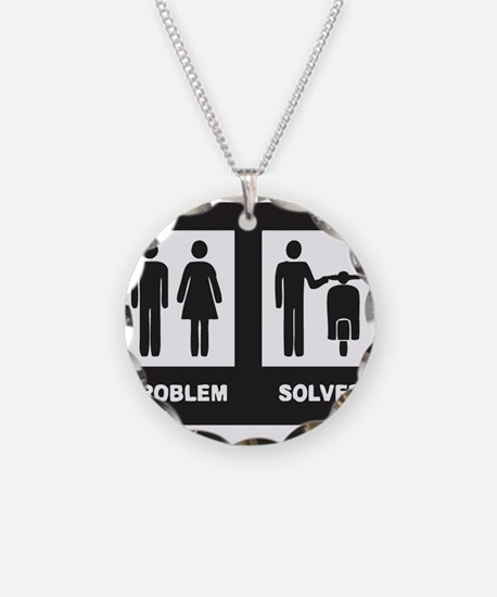 funny scooter Necklace
