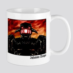 Black Robot Coffee Mug