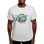 World Cancer Awareness Light T-Shirt