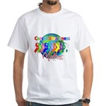 World Cancer Awareness White T-Shirt