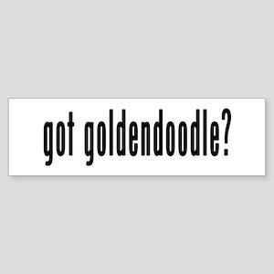 GOT GOLDENDOODLE Sticker (Bumper)