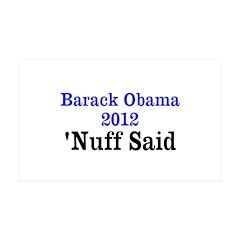 Barack Obama 38.5 x 24.5 Wall Peel
