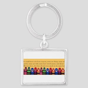 crayonsbumper Keychains